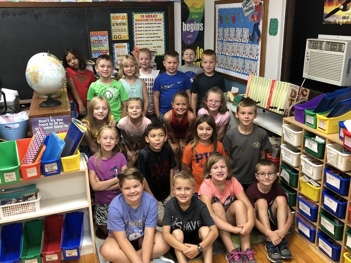 North Elementary 2nd graders (2018).
