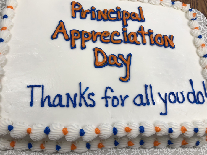 Principal appreciation week.
