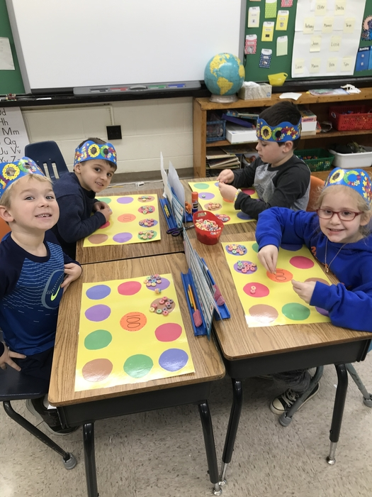 South Kindergarten 100 days!!!