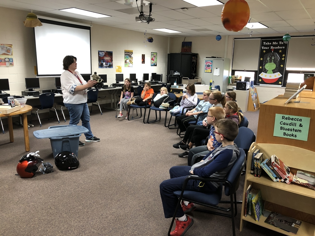 Thank you Amy Rademacher from Carle for coming to Ogden and sharing your farm safety wisdom with our students.