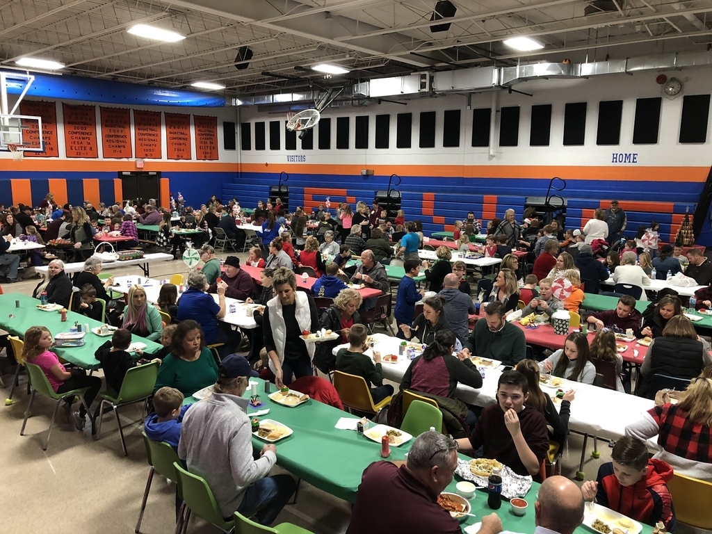 Thank you PVO South families for joining us for our Holiday Meal 2019!